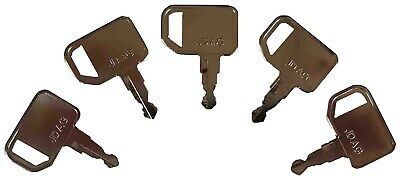 5 John Deere Agricultural Tractor Keys-RE183935-New-Fits Many Models- #25