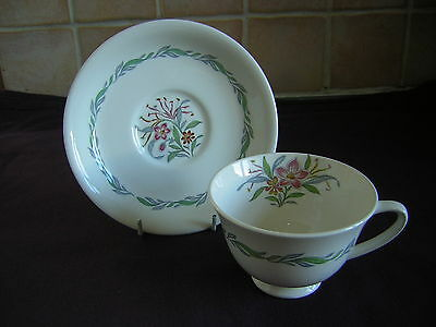"""Royal Doulton """"Fairfield""""  Cup and Saucer"""
