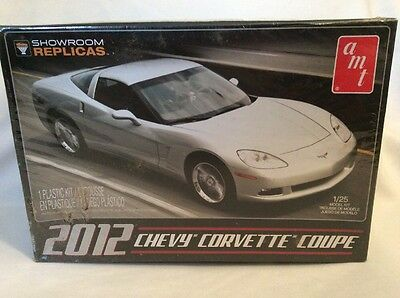 AMT 2012 Chevy Corvette Coupe 1:25 Scale Model Car Kit 756 Sealed! #143