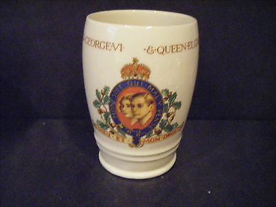 Coronation King George V1  /queen Elizabeth May 1937 Beaker/ Tumbler