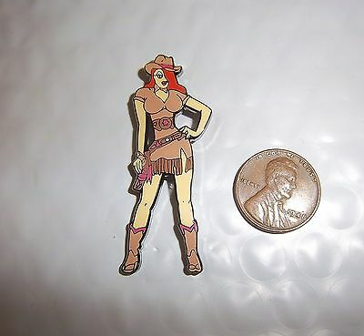 Jessica Rabbit As A Cowgirl Fantasy Pin Roger Rabbit Fame  Not A Disney Pin