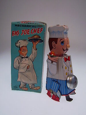 """BIG JOE CHEF""  YONE JAPAN, 16cm, W/UP OK,  NEARLY NEW IN GOOD BOX"