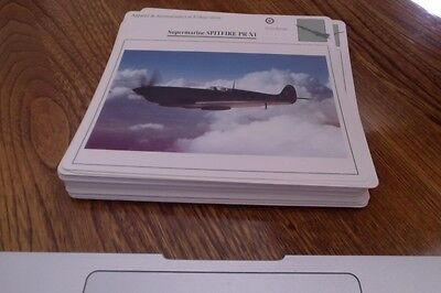 1988-1990 Lot of 50 Diff. Variety Cards of War Aircraft Modern & Old. Lot #5