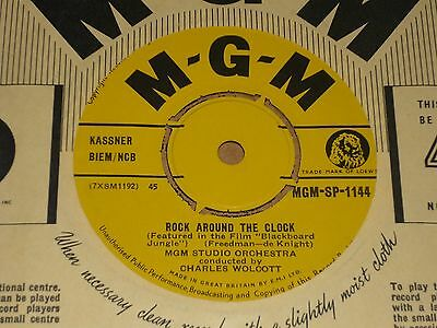"MGM Studio Orchestra ""Rock Around the Clock"" MGM 45"