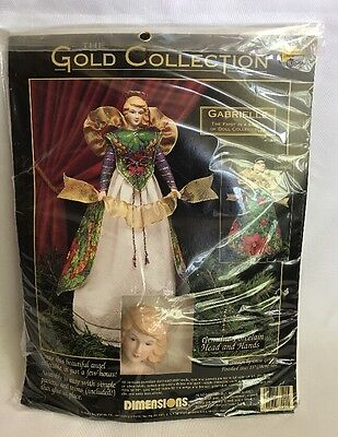 Dimensions Gold Collection Porcelain Angel Doll Gabrielle Kit 68001