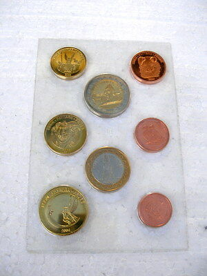 A set of Euro Patten coins mixed Countries