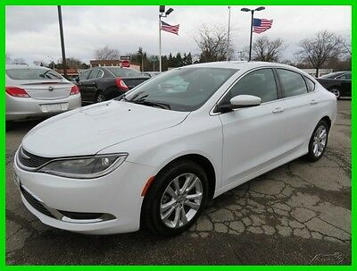 2015 Chrysler 200 Series Limited 2015 Limited Used 2.4L I4 16V Automatic FWD Sedan Premium clean clear title we