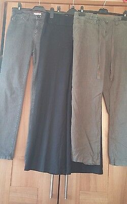Ladies Trousers/Jeans Bundle, size 10, inc NEXT, M&S