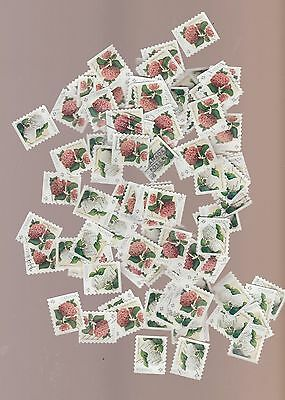 Canada 2016 Flowers Hydrangeas 100 Sets from Coil Used (200 stamps) $80.00