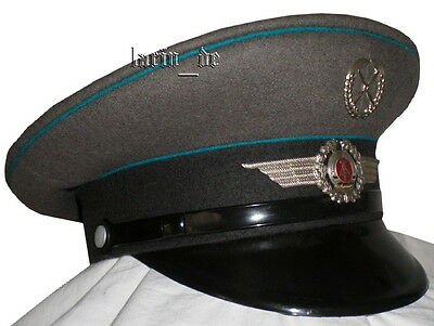 DDR NVA Schirmmütze für Uniform  Luftstreitkräfte East german Air Forces hat GDR