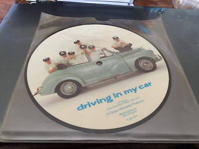 "MADNESS -DRIVING IN MY CAR---1980'S-7"" vinyl picture disc single-PBUY153A"
