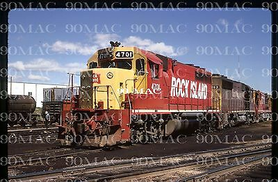 Rock Island (Crip)        Emd Gp40 #4701        Original Slide