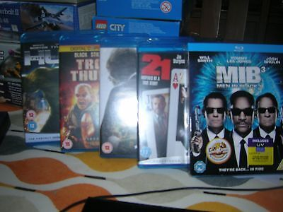 Small Collection Job Let Of Blu Rays. Men In Black 3,21, Hulk Invictus  Etc