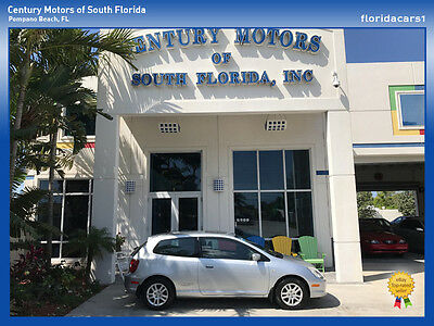 2002 Honda Civic  CIVIC SI HATCHBACK COUPE LOW MILES NON SMOKERS SERVICE RECORDS 5 SPD MANUAL