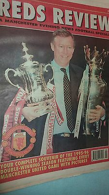 Manchester United.- Reds Review 1995/96
