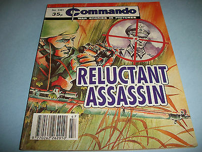 1991  Commando comic no. 2481