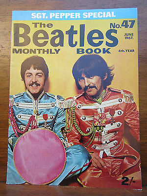Beatles Book No 47 Sgt Pepper Special June 1967 Nr Mint Original 1960`s Issue