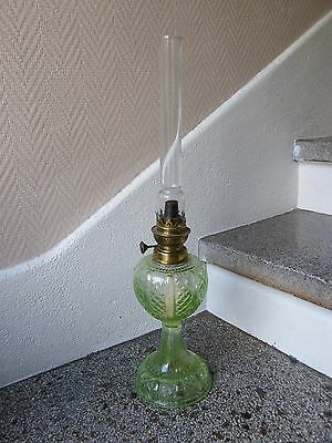 Lamp oil Crystal moulded Baccarat Seyedmehdi Ouran Glass Petrol Lamp