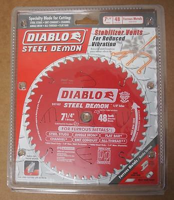 Diablo (D0748F)7 1/4 in. x 48Tooth Laminate/ for Ferrous Metal Cutting Blade