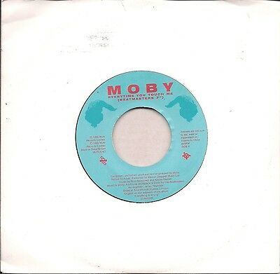 """Moby Everytime You Touch Me Jukebox issue UK 45 7"""" single"""