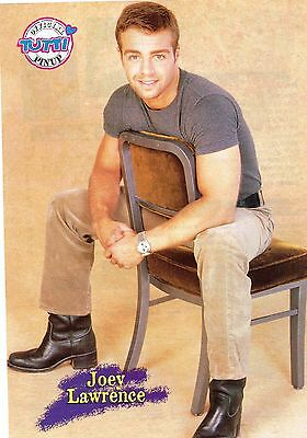 Joey Lawrence teen magazine pinup clipping Tiger Beat Bop Teen Beat Free Ship