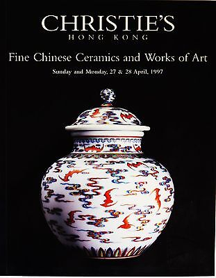 CHRISTIE'S - Fine Chinese Ceramics and Works of Arts, Hong Kong April 1997