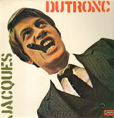 Jacques Dutronc Disques Vogue Vinyl LP