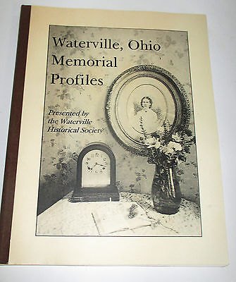 Waterville Ohio Memorial Profiles History Book