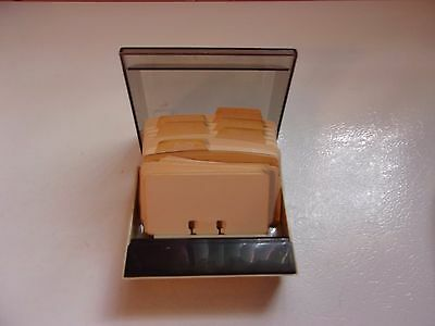 Rolodex Vintage w/ Cards - Cards are Mostly Blank and Lined - Pre owned