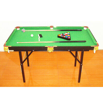 1Set Billiard Children's Pool Table with Acessories 1.2m