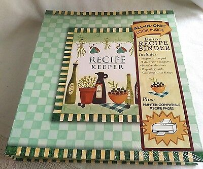 All In One Deluxe Recipe Binder New Seasons, New