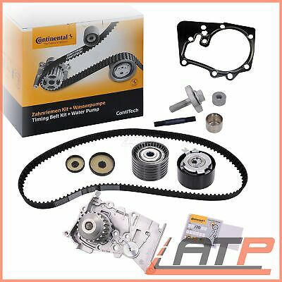 Contitech Timing Belt Kit + Water Pump Dacia Logan Mk 1 2 06- Duster 1.6