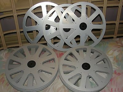 ELMO ALUMINUM Super 8 MOVIE REEL 1200 ft / 360 m