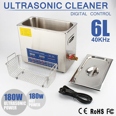 6L Digital Ultraschallreiniger Ultraschallreinigungsgerät Ultrasonic Cleaner WOW