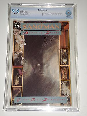 Sandman #1 (1989) CBCS Graded 9.6 (Similar to CGC) 1st Morpheus Appearance