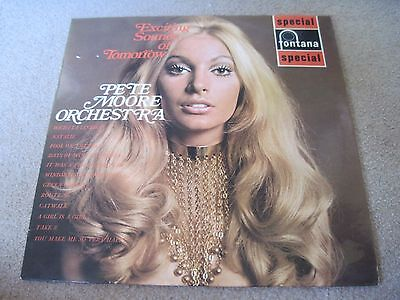 PETE MOORE ORCHESTRA Exciting Sounds Of Tomorrow  1970  FONTANA  superb EX+