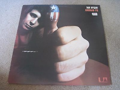DON McLEAN American Pie  1971  UNITED ARTISTS    NEAR MINT