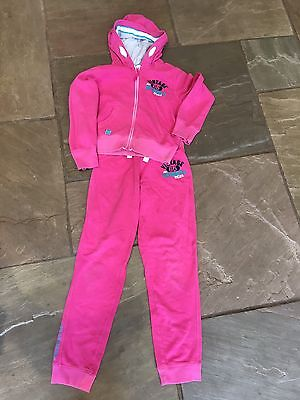 Girls Pink Next Tracksuit Age 13 Years Fit Age 11 Years Worn Once