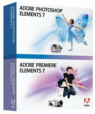 Adobe Photoshop Elements 7 & Adobe Premiere Elements 7... | Software | gebraucht