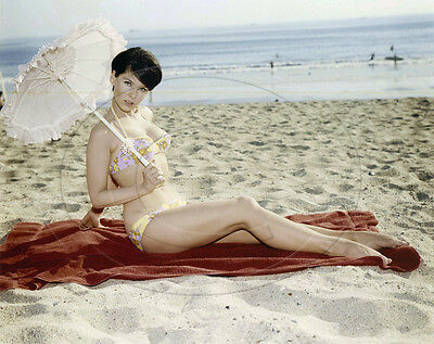 Yvonne Craig   leggy in bikini   8x10 photo