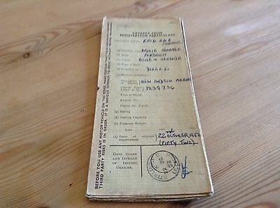 Fordson Major Tractor Logbook