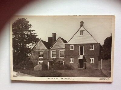 The Old Mill St Albans Hertfordshire  RP Postcard