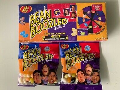 2x Jelly Belly Beans Boozled 4th Generation+ Bean Boozled Glücksrad 3th Sparset