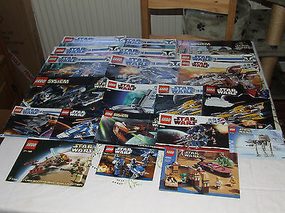 Lego Large Joblt Of Star Wars Instructions / Manuals