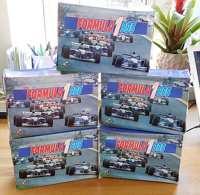 Formula 1 - 1995 - 5 Complete Boxes Of 50 Packets