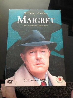 Maigret - The Complete Series 1 And 2 (DVD, 2004, 4-Disc Set)
