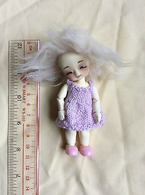 Fairy Garden DD-Anne handmade Dreaming LII 10cm tiny resin bjd with outfit
