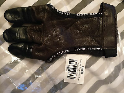 Timber Creek Premium Leather with Cordovan Tips Archery Glove