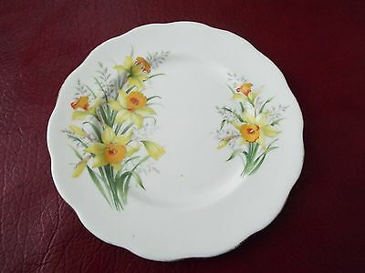 Royal Albert Side Plate Friendship Daffodil