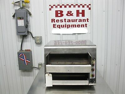 Holman High Volume Conveyor Bagel Bread Oven Toaster QCS-3